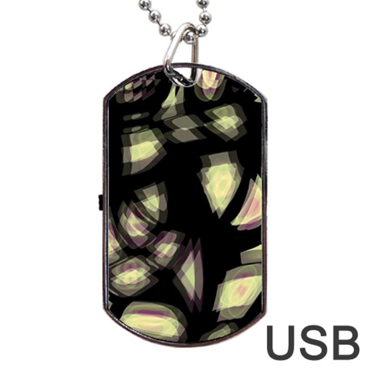 Follow the light Dog Tag USB Flash (One Side)