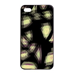 Follow The Light Apple Iphone 4/4s Seamless Case (black) by Valentinaart