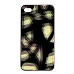 Follow the light Apple iPhone 4/4s Seamless Case (Black) Front