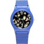 Follow the light Round Plastic Sport Watch (S) Front