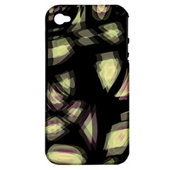 Follow The Light Apple Iphone 4/4s Hardshell Case (pc+silicone) by Valentinaart