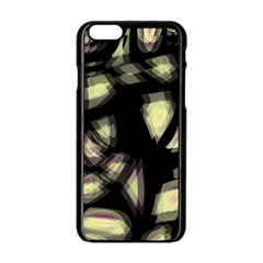 Follow The Light Apple Iphone 6/6s Black Enamel Case by Valentinaart