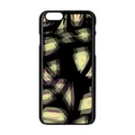 Follow the light Apple iPhone 6/6S Black Enamel Case Front