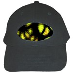 Yellow light Black Cap Front