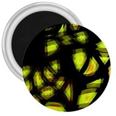 Yellow Light 3  Magnets