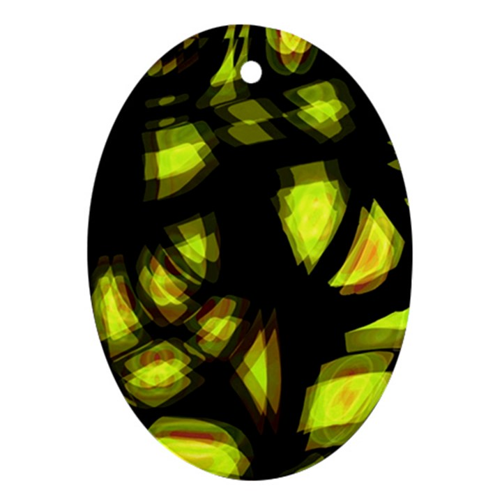 Yellow light Ornament (Oval)