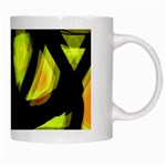 Yellow light White Mugs Right