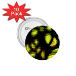 Yellow light 1.75  Buttons (10 pack) Front