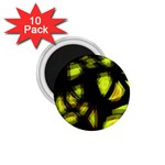 Yellow light 1.75  Magnets (10 pack)
