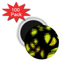Yellow Light 1 75  Magnets (100 Pack)  by Valentinaart