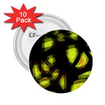 Yellow light 2.25  Buttons (10 pack)