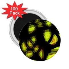 Yellow Light 2 25  Magnets (100 Pack)  by Valentinaart