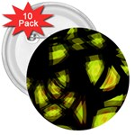 Yellow light 3  Buttons (10 pack)