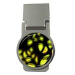 Yellow light Money Clips (Round)