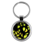 Yellow light Key Chains (Round)