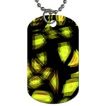 Yellow light Dog Tag (One Side)