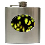 Yellow light Hip Flask (6 oz)