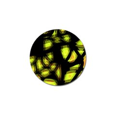 Yellow Light Golf Ball Marker (4 Pack)