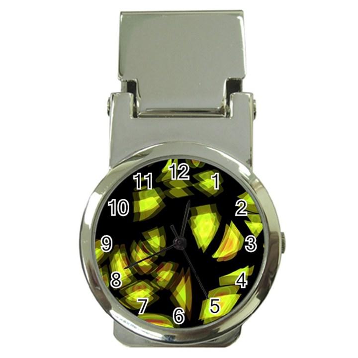 Yellow light Money Clip Watches