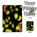 Yellow light Playing Cards 54 Designs  Front - Heart5