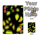 Yellow light Playing Cards 54 Designs  Front - Diamond6