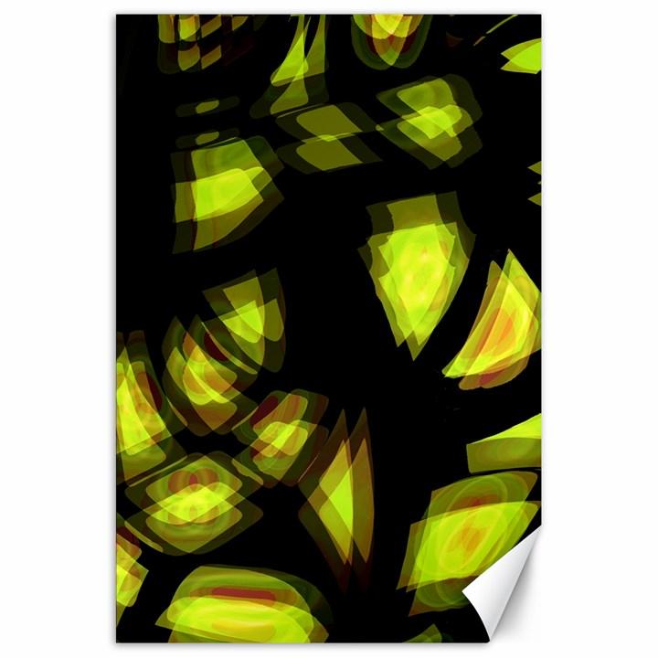 Yellow light Canvas 20  x 30
