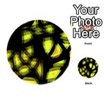 Yellow light Playing Cards 54 (Round)  Back