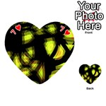 Yellow light Playing Cards 54 (Heart)  Front - Heart7