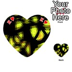 Yellow light Playing Cards 54 (Heart)  Front - HeartK