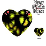 Yellow light Playing Cards 54 (Heart)  Front - Diamond7