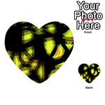Yellow light Playing Cards 54 (Heart)  Back