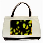 Yellow light Basic Tote Bag (Two Sides) Back