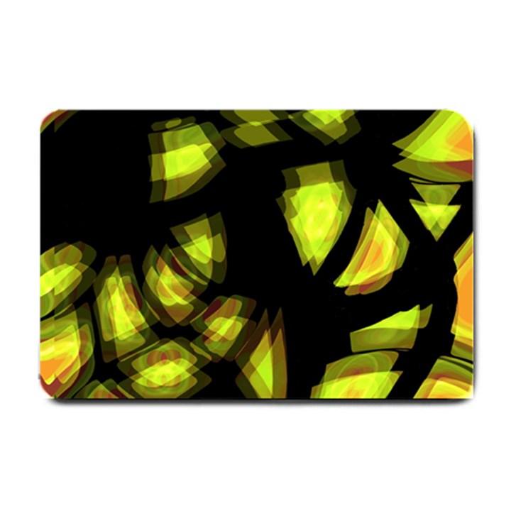 Yellow light Small Doormat