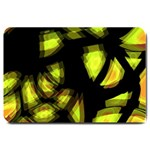 Yellow light Large Doormat  30 x20 Door Mat - 1