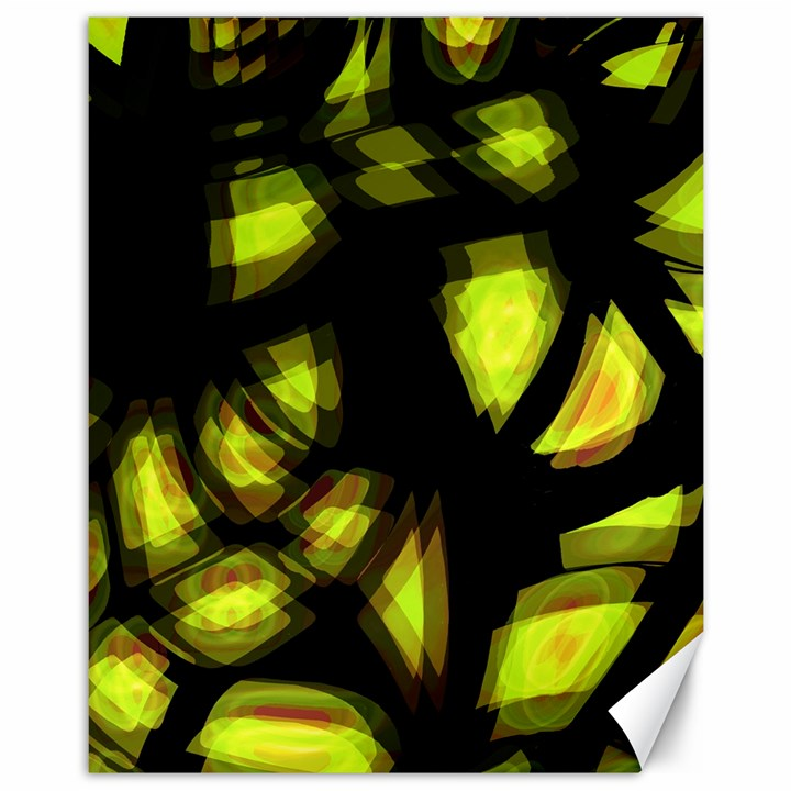 Yellow light Canvas 11  x 14
