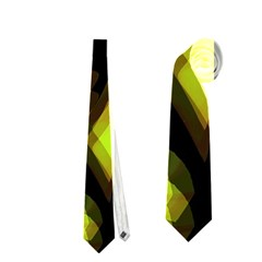 Yellow Light Neckties (two Side)  by Valentinaart