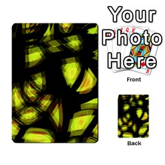 Yellow Light Multi Purpose Cards (rectangle)  by Valentinaart