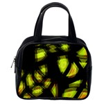 Yellow light Classic Handbags (One Side)