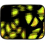 Yellow light Fleece Blanket (Mini)