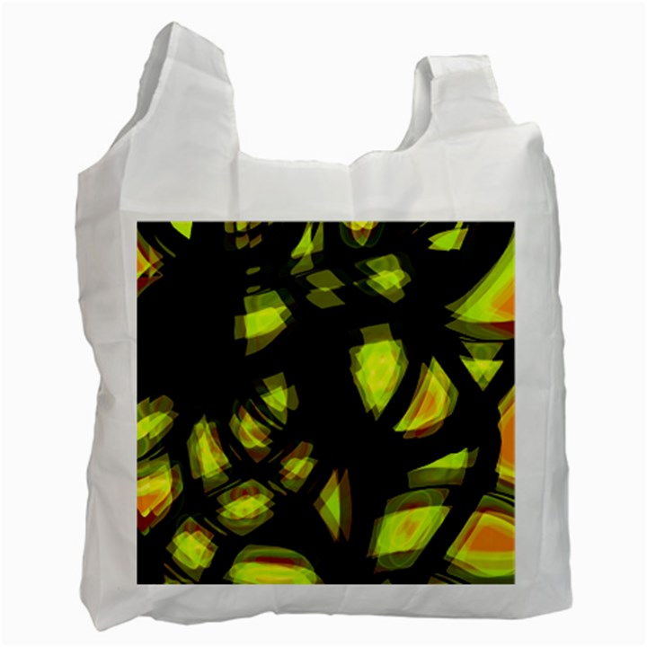 Yellow light Recycle Bag (Two Side)