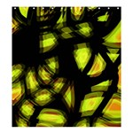 Yellow light Shower Curtain 66  x 72  (Large)