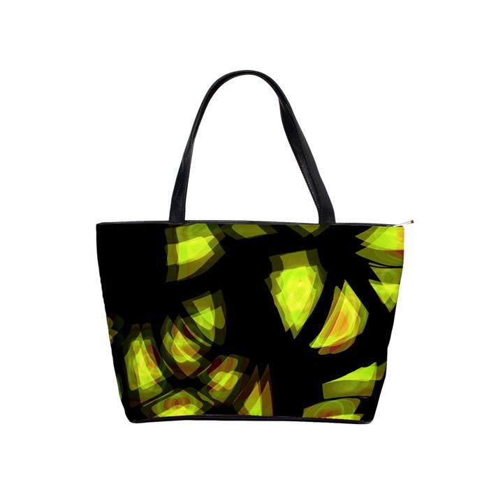 Yellow light Shoulder Handbags