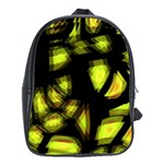 Yellow light School Bags(Large)  Front