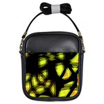 Yellow light Girls Sling Bags