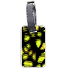 Yellow Light Luggage Tags (one Side)