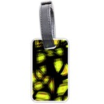 Yellow light Luggage Tags (One Side)  Front