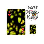 Yellow light Playing Cards 54 (Mini)  Front - HeartA