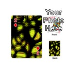Yellow light Playing Cards 54 (Mini)  Front - Diamond2