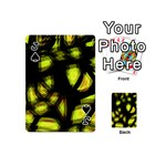 Yellow light Playing Cards 54 (Mini)  Front - SpadeJ