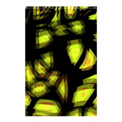 Yellow Light Shower Curtain 48  X 72  (small)